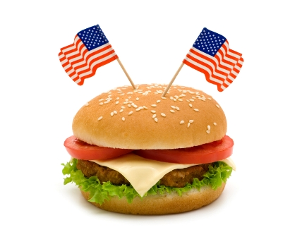 American food for American cuisine topic