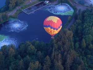 nearby ballooning